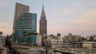 新宿の高層ビルの写真・画像素材[863400]