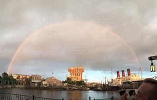 虹の水の写真・画像素材[862229]