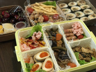 料理の種類でいっぱいのボックス - No.873004