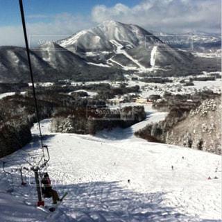 雪山の写真・画像素材[867613]