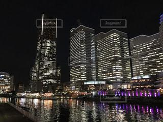 横浜の夜景の写真・画像素材[870967]