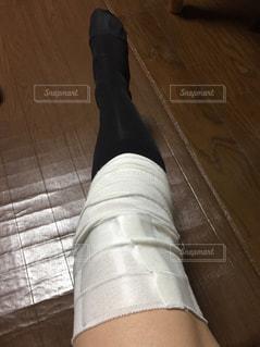 脚の怪我、手術などに、、の写真・画像素材[862910]