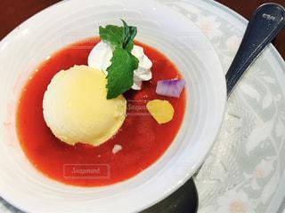 デザートのアイスクリーム - No.860512