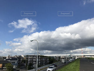 空には雲のグループの写真・画像素材[862696]
