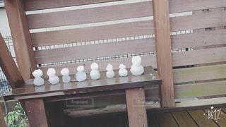 雪だるマトリョーシカの写真・画像素材[861996]