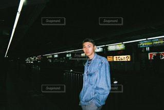 駅のホームの写真・画像素材[860573]