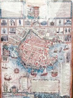 建物の地図の写真・画像素材[876903]