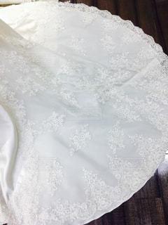 雪で覆われたテーブルの写真・画像素材[878073]