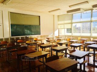 学校の教室の写真・画像素材[985147]