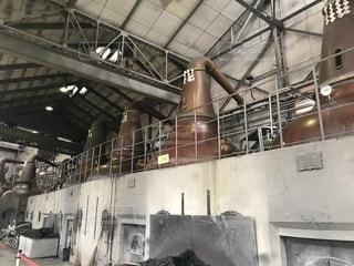 工場の前の写真・画像素材[1267418]