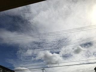 曇りの日の写真・画像素材[861672]