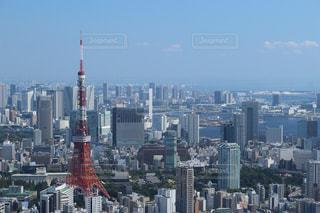 東京タワー 六本木ヒルズよりの写真・画像素材[881974]