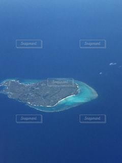 空からの沖縄の写真・画像素材[862343]