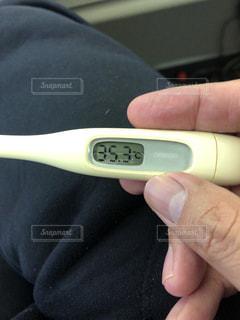 体温計の写真・画像素材[980452]