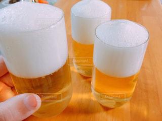 りんごジュースのビールゼリーの写真・画像素材[1282407]