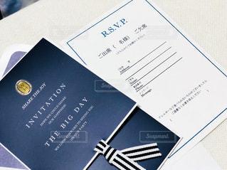 招待状の写真・画像素材[1282412]