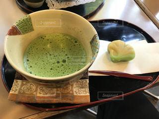 抹茶と和菓子セット - No.875638