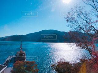 水体の大型船の写真・画像素材[862402]