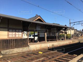 御室仁和寺駅の写真・画像素材[1190884]