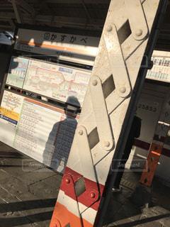 春日部駅 鉄骨の柱の写真・画像素材[862376]