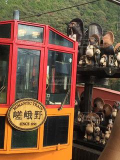 トロッコ電車と狸 - No.863983