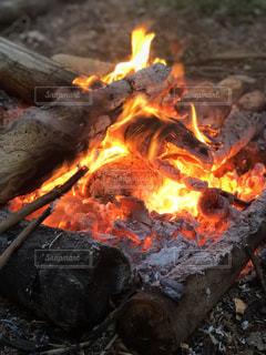 燃えるの写真・画像素材[2370814]