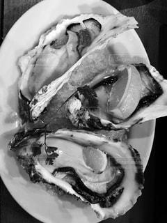 生牡蠣の写真・画像素材[870714]