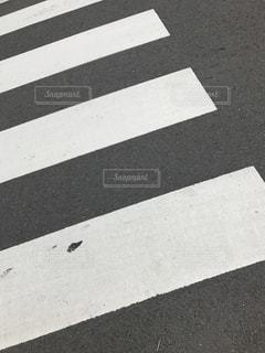 横断歩道のアップ - No.863670