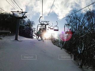 スキー場にて。の写真・画像素材[868558]