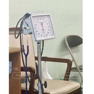 大きな血圧計の写真・画像素材[2325218]