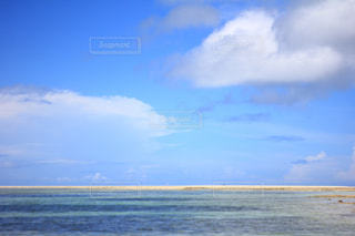 青い空と海の写真・画像素材[865093]