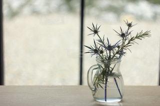 テーブルの上の花瓶の写真・画像素材[865905]