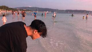 ビーチにての写真・画像素材[1168725]