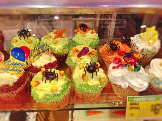 ハロウィンカップケーキの写真・画像素材[867884]