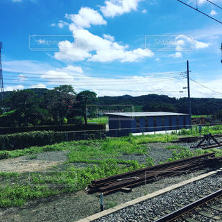 鋼のトラックの列車の写真・画像素材[866620]