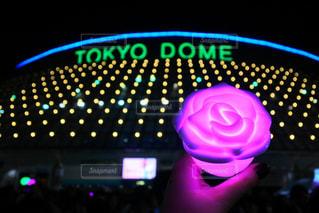 西野カナコンサートでの東京ドームの写真・画像素材[866652]
