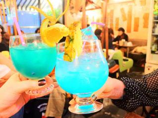 女子会のフォトジェニックな飲み物の写真・画像素材[866654]