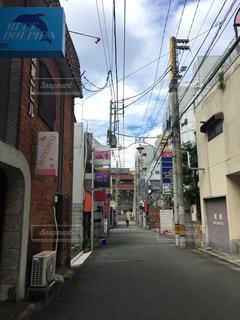 愛媛県宇和島駅付近の繁華街の写真・画像素材[867273]