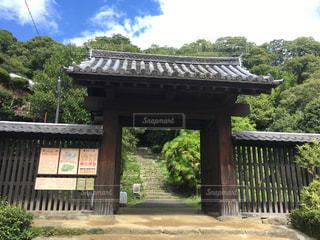 愛媛県にある宇和島城の門(横)の写真・画像素材[867276]