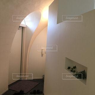 とれとれヴィレッジのドームハウスの玄関の写真・画像素材[867379]