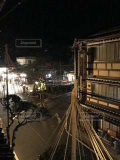 城崎温泉の夜景(2)の写真・画像素材[1025236]