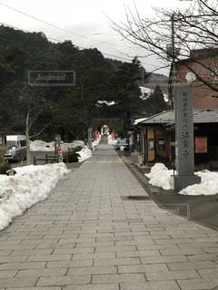 冬の温泉寺 - No.1025242