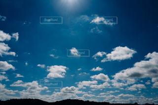 空には雲のグループの写真・画像素材[870329]