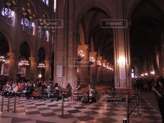 ノートルダム大聖堂 ミサの写真・画像素材[867243]