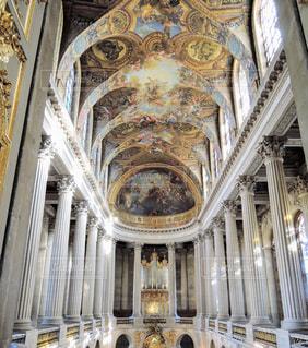 ヴェルサイユ宮殿にての写真・画像素材[873945]