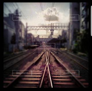 線路の写真・画像素材[868936]