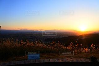 夕日のビューの写真・画像素材[867745]