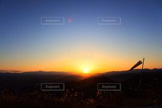 背景の夕日の写真・画像素材[867749]