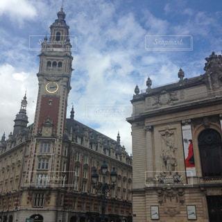 オペラ座と大鐘楼の写真・画像素材[869346]