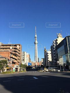都市の高層ビルの写真・画像素材[869474]